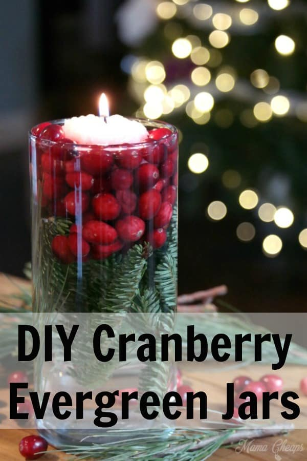 Christmas Pine Cranberry Centerpiece PIN 2