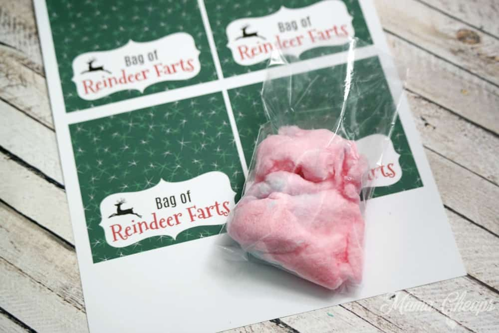 Cotton Candy Reindeer Farts