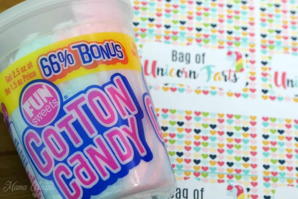 Cotton Candy and Unicorn Tags