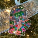 Easy Perler Bead Cookie Cutter Ornaments