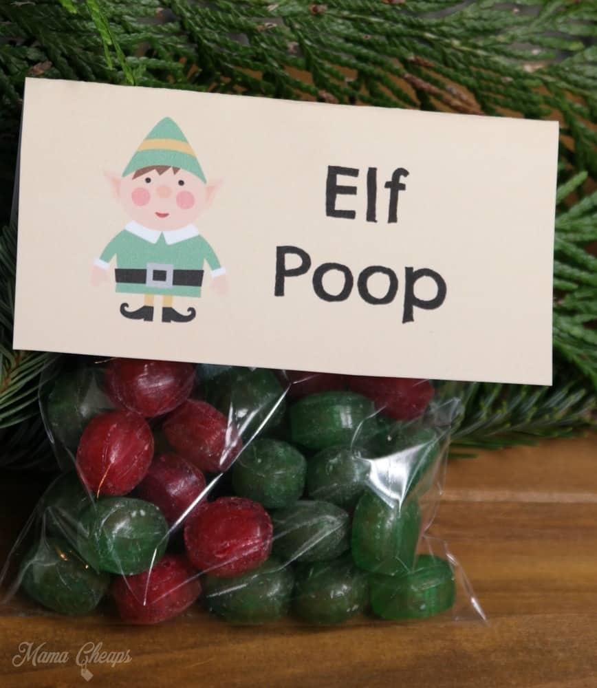 Elf Poop Snack