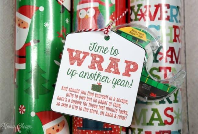 Gift Wrap Present Idea