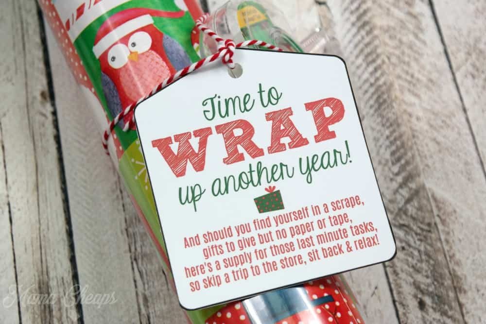 Gift Wrap Tape for Teachers