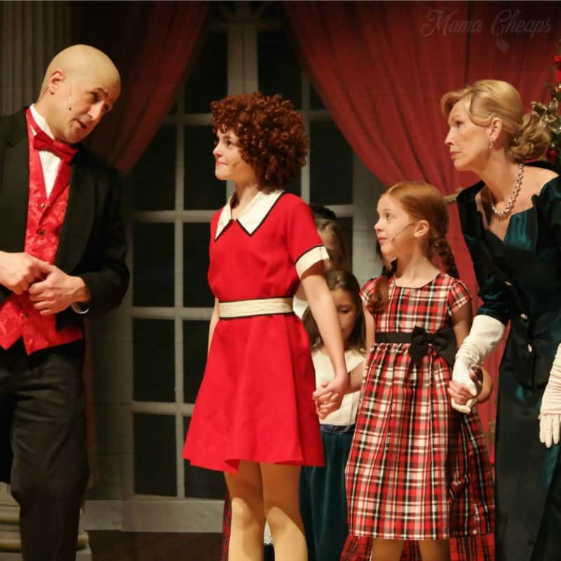 Lily in Annie 4