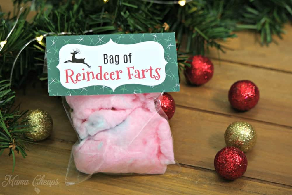 Reindeer Farts Printable