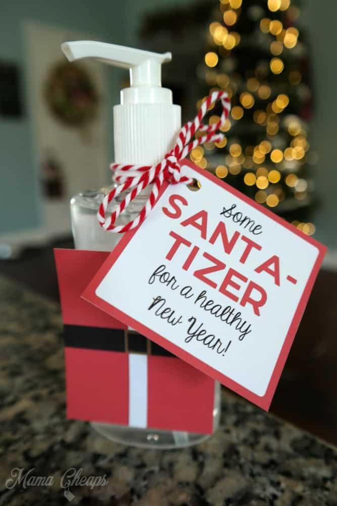 Hand Sanitizer Easy Christmas Gift Idea