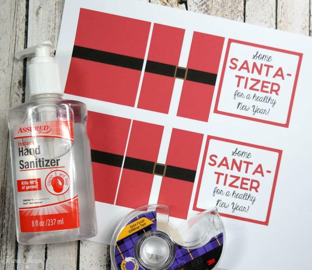Santa Tizer Materials