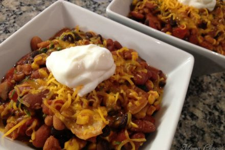 Bean Chili Slow Cooker Recipe