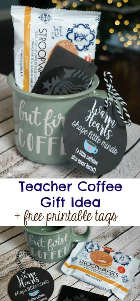 Teacher Coffee Gift Mug Idea