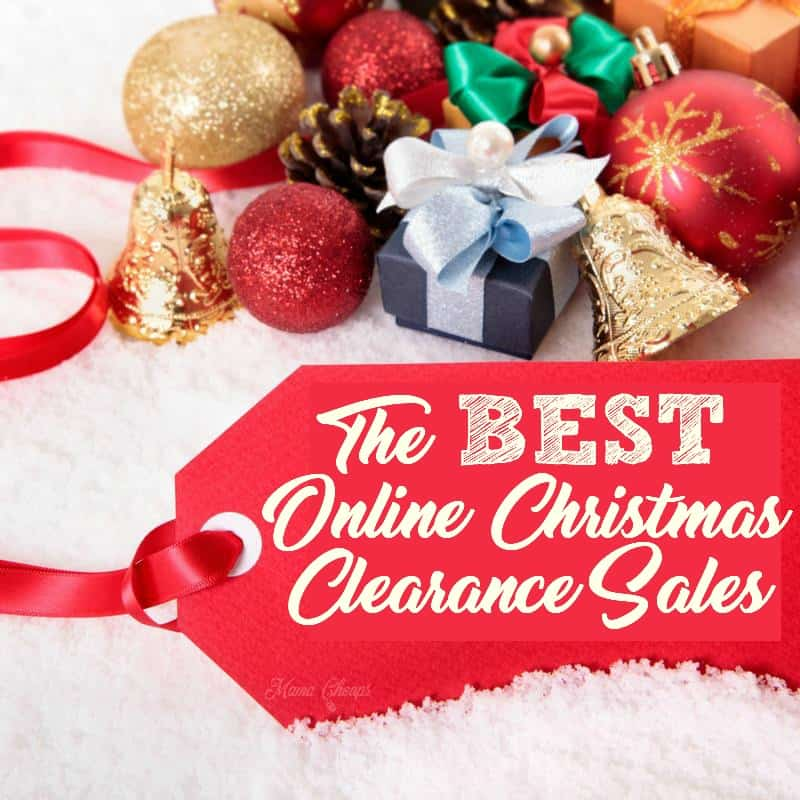 the best online christmas clearance sales