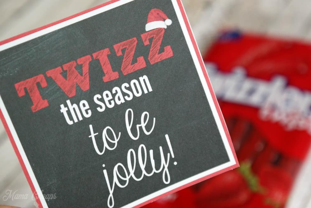 Twizzlers Gift Tags