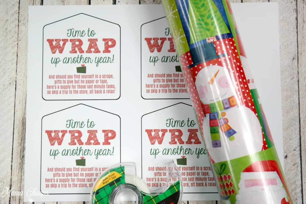 Wrap Up Another Year Gift Supplies