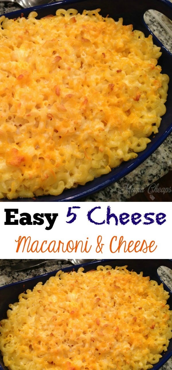 5 Cheese Macaroni & Cheese