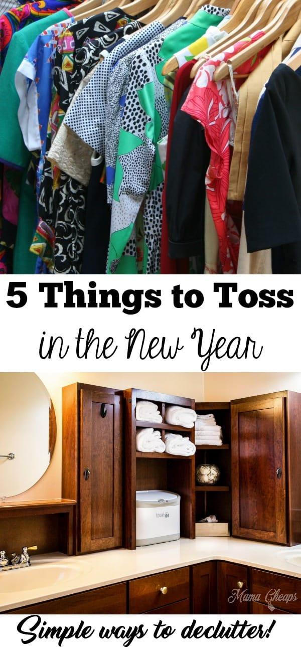 5 Easy Things to Toss in the New Year
