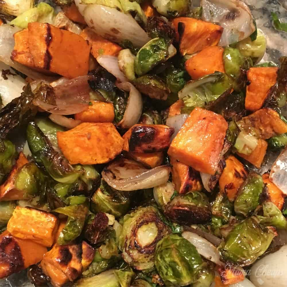 Balsamic Honey Roasted Veggies Featured