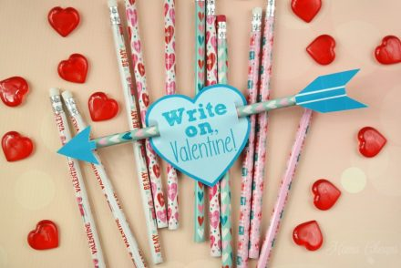 Cupid Arrow Pencils