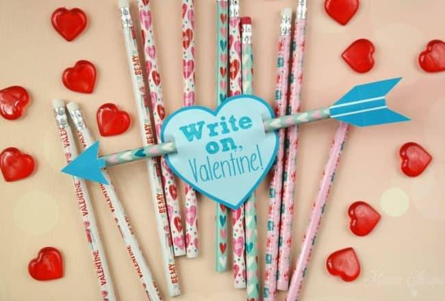Cupid Arrow Pencils