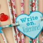 Cupid Pencil Valentines