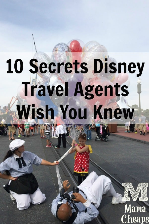 Disney Travel Agent Secrets PIN 3