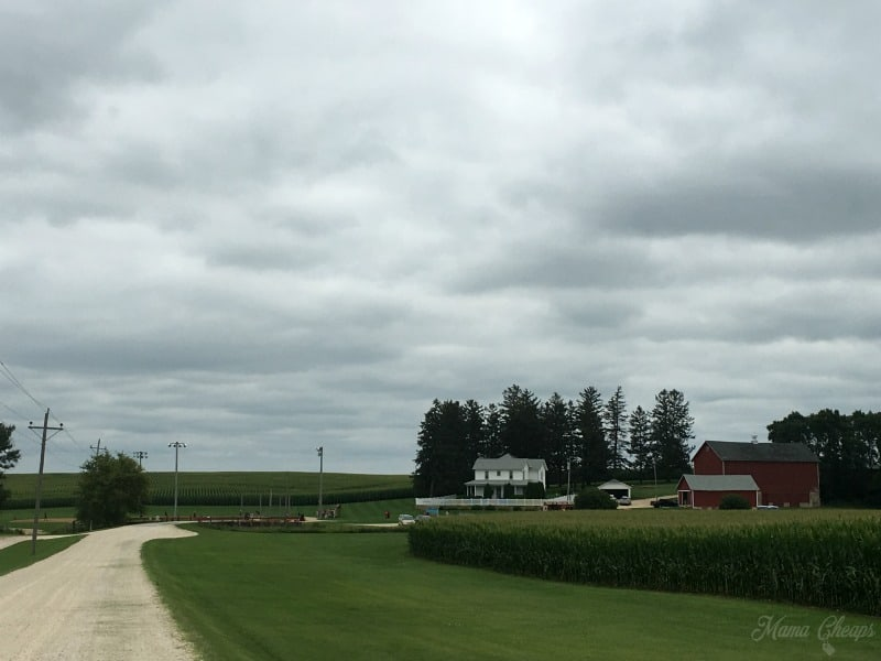 Field of Dreams Lansing Farm View from Road