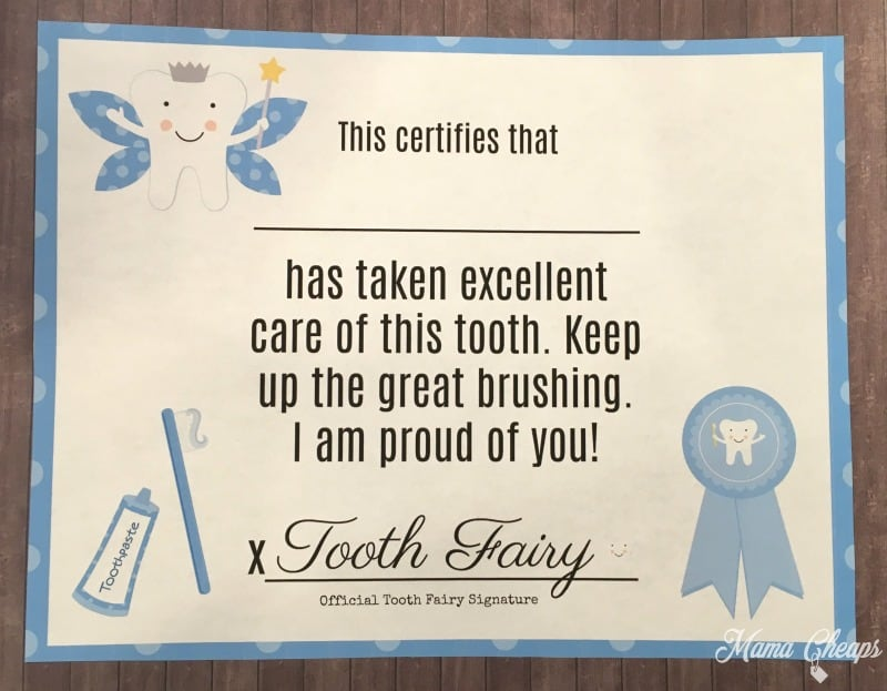 graphic about Free Tooth Fairy Printable known as No cost Printable Teeth Fairy Certification Mama Cheaps