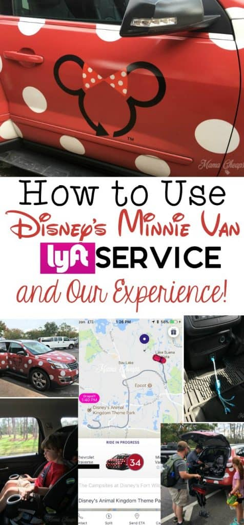 How to Use Minnie Van Lyft Service and Review