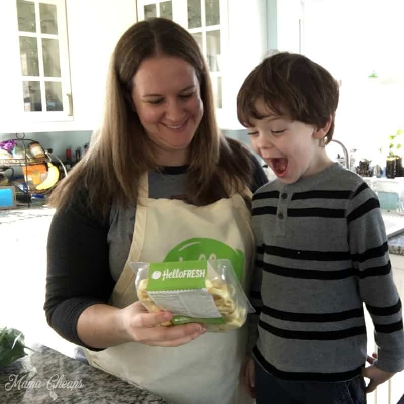 Landon and Devon HelloFresh