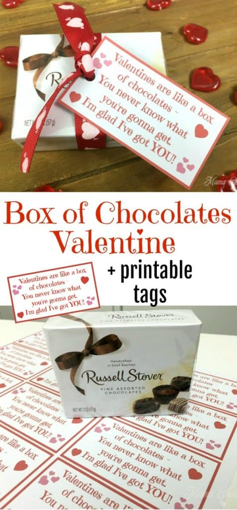Box of Chocolates Valentine