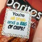 Chips Valentine Idea