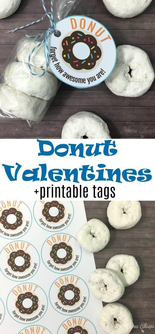 Easy Donut Valentines