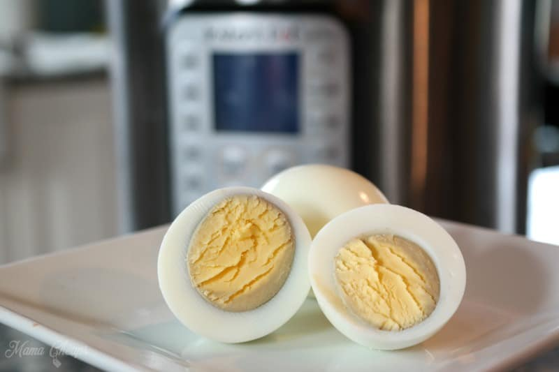 Hard Boiled Eggs Instant Pot