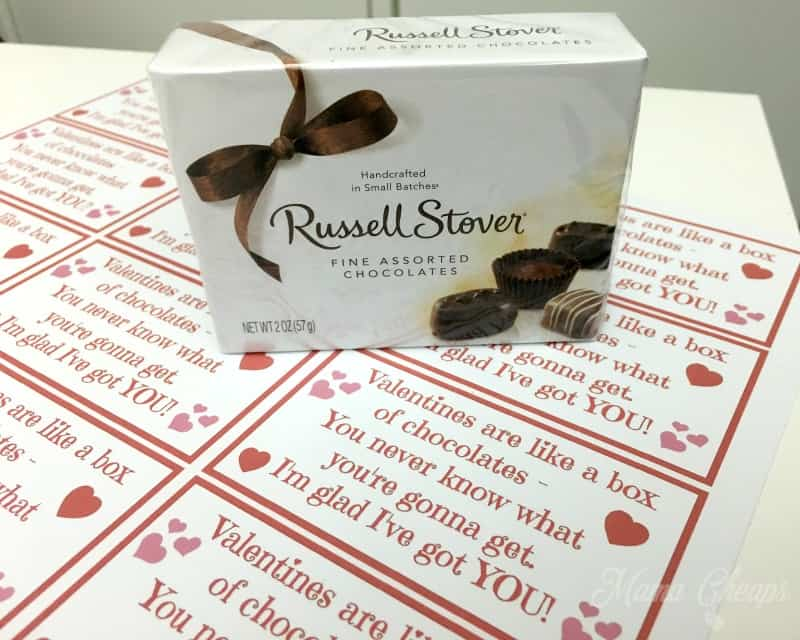 Russell Stover Mini Box