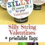 Silly String Valentine Ideas