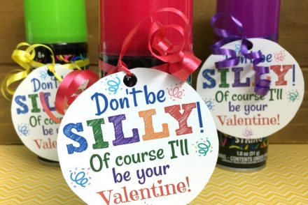 Silly String Valentines