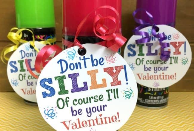 Silly String Valentines