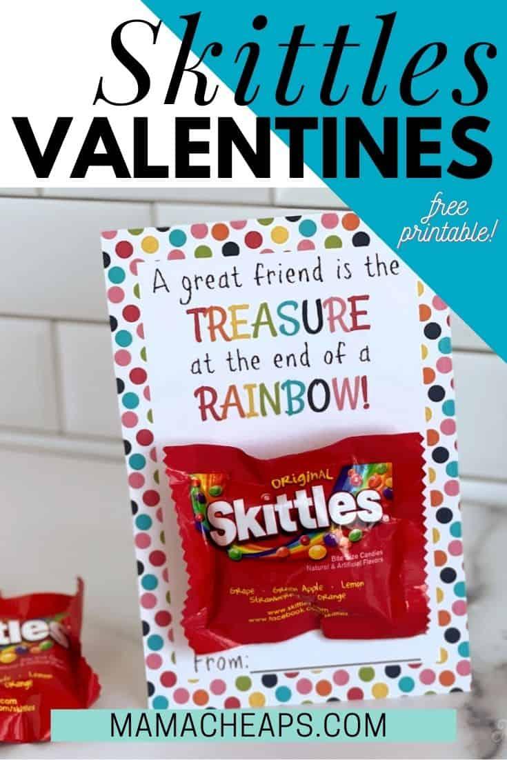 Skittles Valentines PIN
