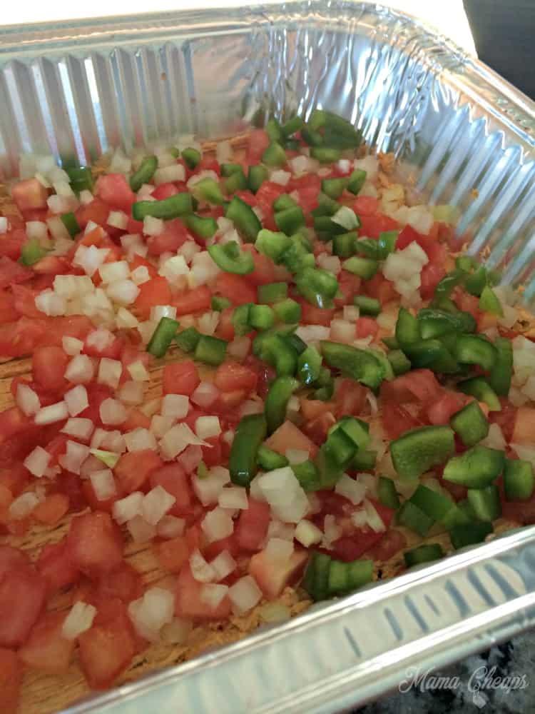 Veggies Taco Dip