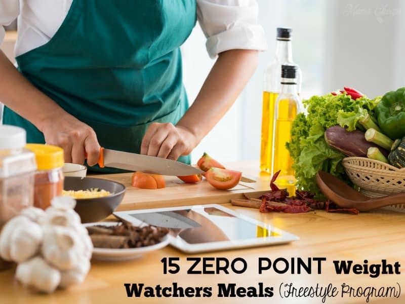 Zero Point Weight Watchers Meals