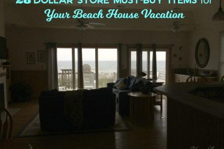 dollar store beach house must buy items