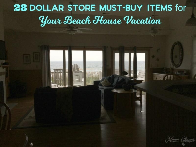 Dollar Beach House Must Items