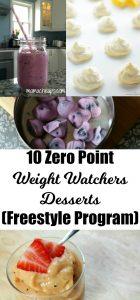 10 Zero Point Weight Watchers Desserts (Freestyle Program) 2
