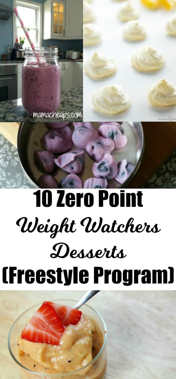 10 Zero Point Weight Watchers Desserts (Freestyle Program) 2