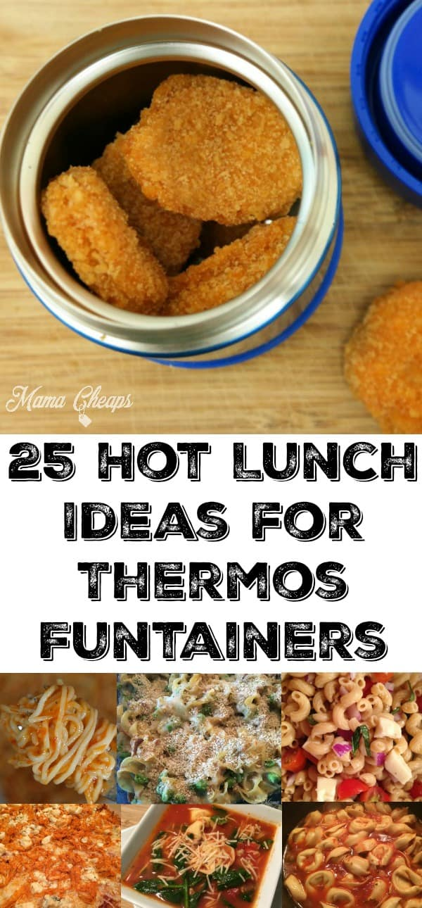 25 Hot Lunch Ideas for Thermos Funtainers
