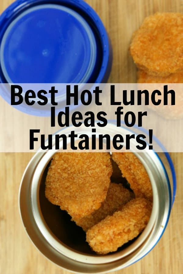 Funtainer Hot Lunch Ideas PIN 1