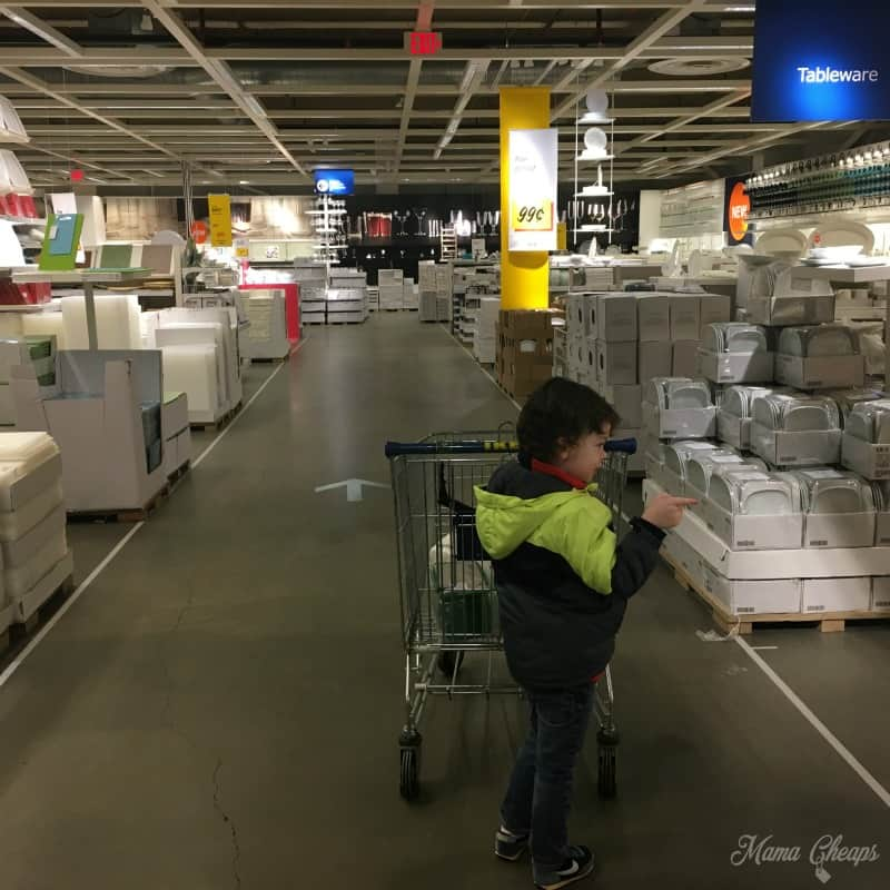 Landon at IKEA