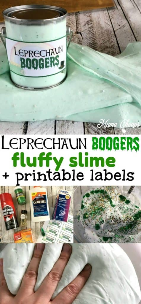 Leprechaun Boogers St Patricks Day Slime