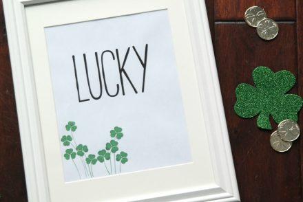 Lucky Shamrock Print