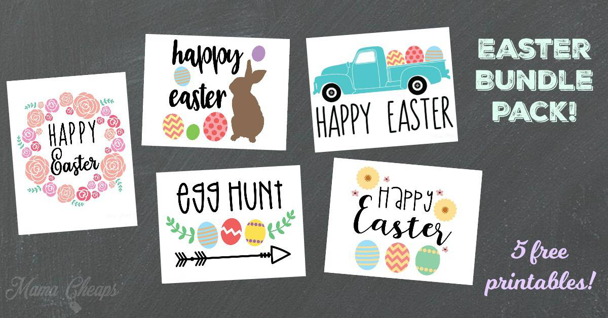 Mama Cheaps Easter Bundle Pack