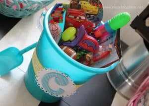 beach bucket easter basket