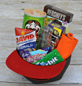 hat easter basket